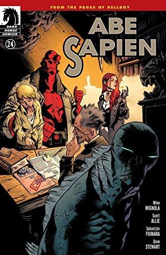 Abe Sapien #24  by  Mike Mignola