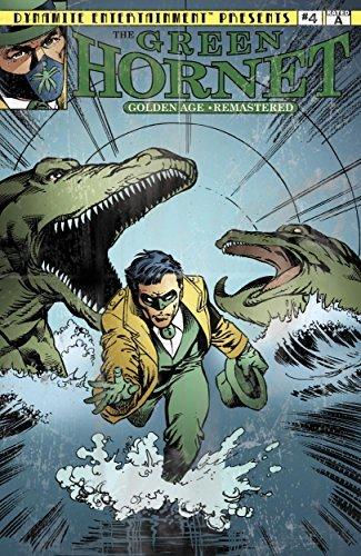 Green Hornet Golden Age Remastered #4 Fran Striker