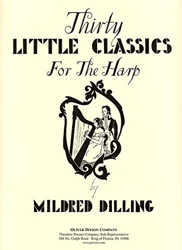 Thirty Little Classics for the Harp Paul Wachs