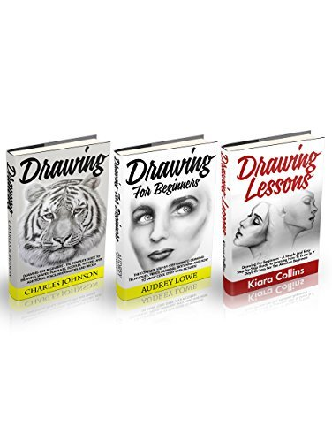 Drawing Box Set: The Complete Guide To Drawing Shapes, Portraits, Pencil Drawing, Sketching And How To Draw Cool Stuff! + A Simple And Easy Guide To Learning How To Draw In 7 Days Or Less Charles Johnson