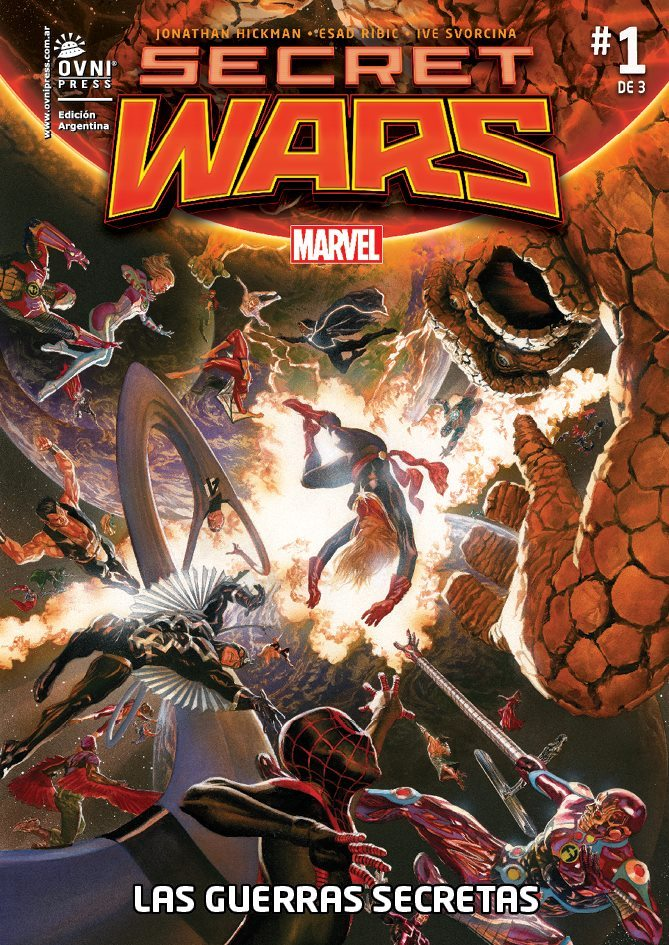 Secret Wars, #1 de 3: Las Guerras Secretas 01: El fin del mundo (Secret Wars - Las Guerras Secretas, #1)  by  Jonathan Hickman