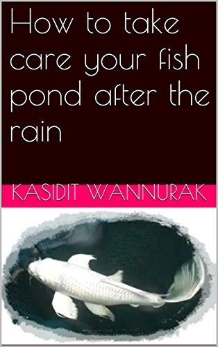 How to take care your fish pond after the rain: fish,fish pond  by  Kasidit Wannurak