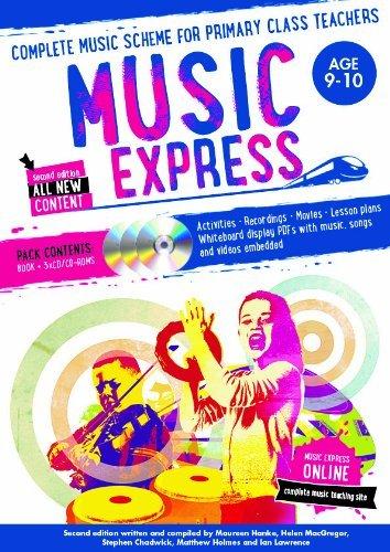 Music Express: Age 9-10 (Book + 3CDs + DVD-ROM): Complete music scheme for primary class teachers Helen MacGregor