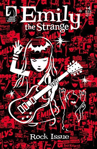 Emily the Strange #4: The Rock Issue (Emily The Strange Vol. 1)  by  Brian Brooks