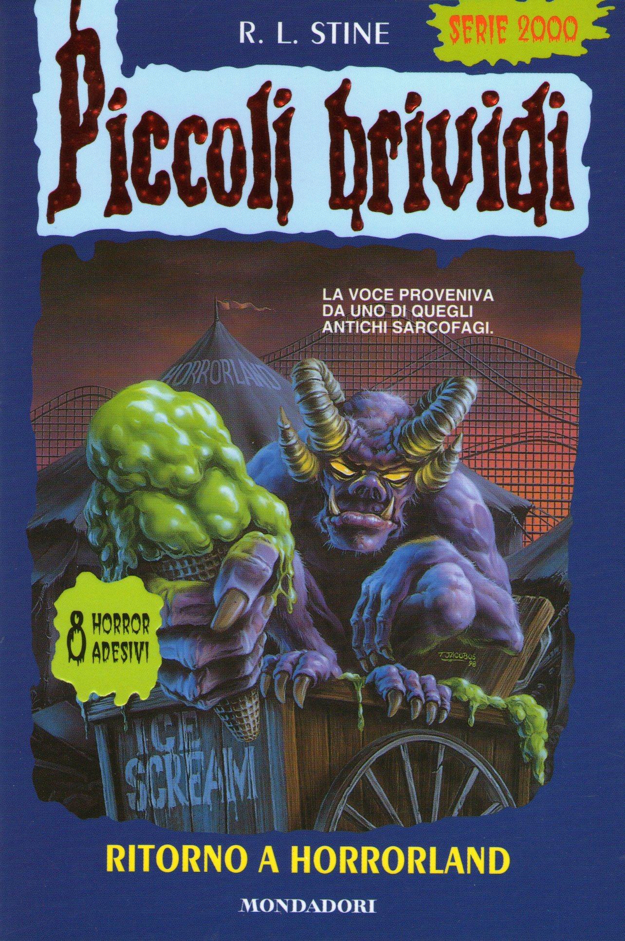 Ritorno a HorrorLand  by  R.L. Stine