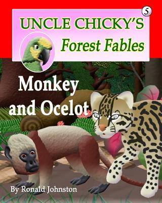 Monkey and Ocelot  by  Ronald Johnston