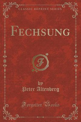 Fechsung Peter Altenberg