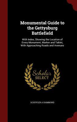 Monumental Guide to the Gettysburg Battlefield: With Index, Showing the Location of Every Monument, Marker and Tablet, with Approaching Roads and Avenues  by  Schuyler a Hammond