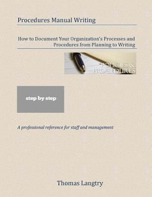 Procedures Manual Writing Thomas Langtry