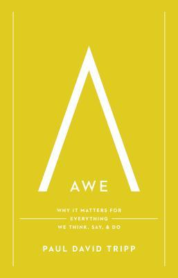 Awe: Why It Matters for Everything We Think, Say, and Do Paul David Tripp