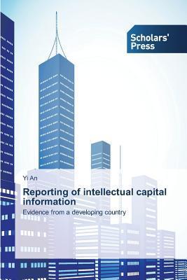 Reporting of Intellectual Capital Information An Yi