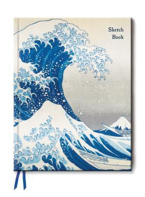 Great Wave (Blank Sketch Book)  by  Flame Tree