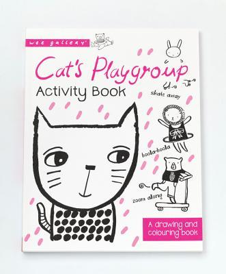 Cats Playgroup Activity Book: A Drawing and coloring book  by  Surya Pinto
