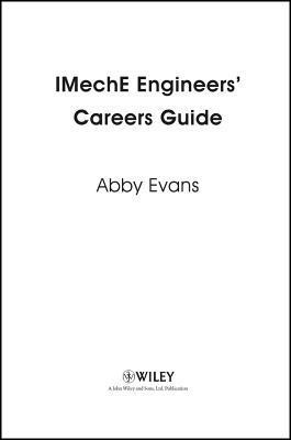Imeche Engineers Careers Guide Abby Evans
