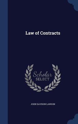 Law of Contracts John Davison Lawson