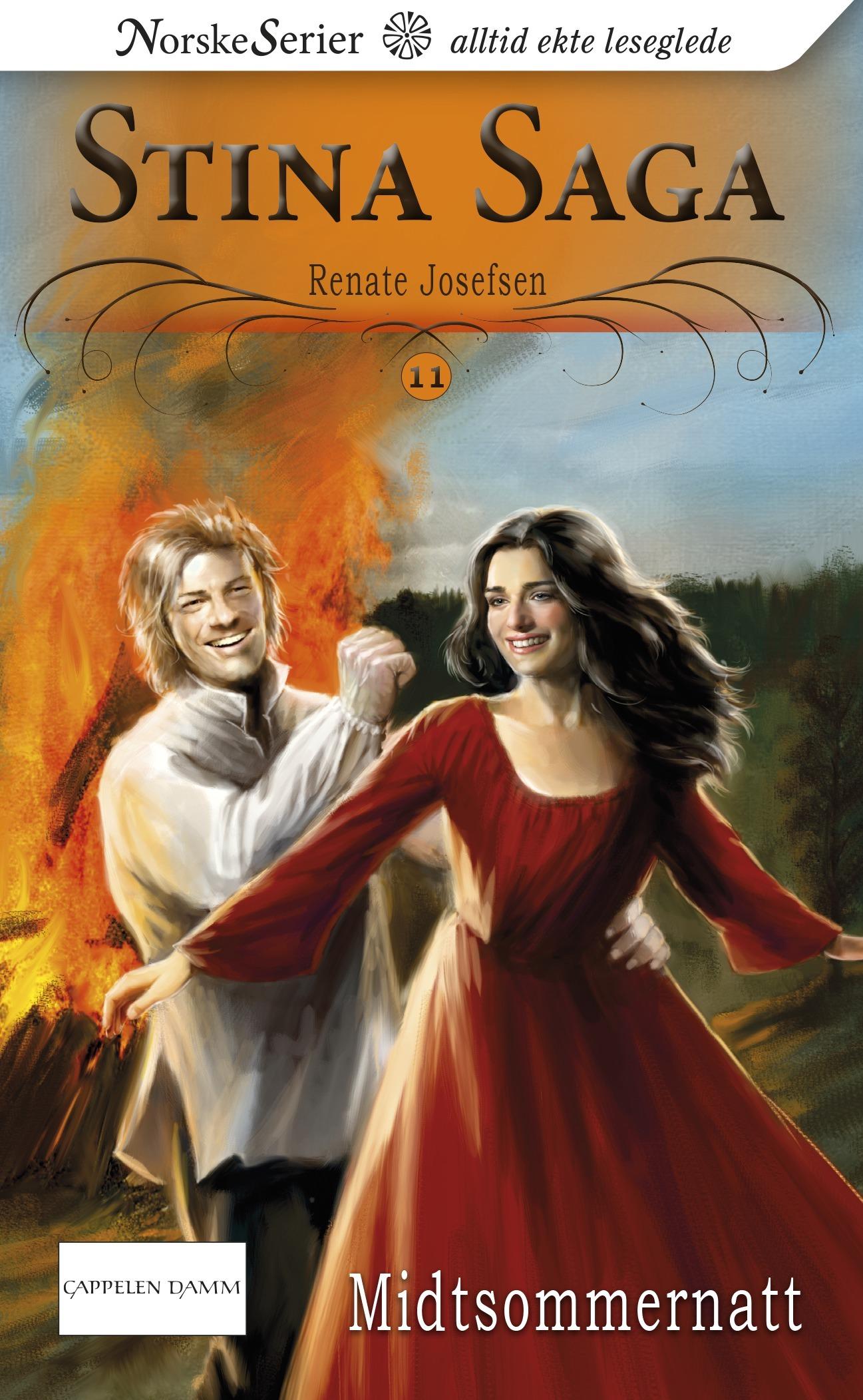 Midtsommernatt (Stina Saga #11)  by  Renate Josefsen
