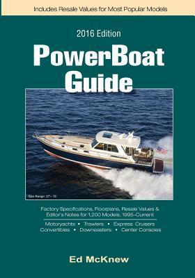 2016 Powerboat Guide  by  Ed McKnew