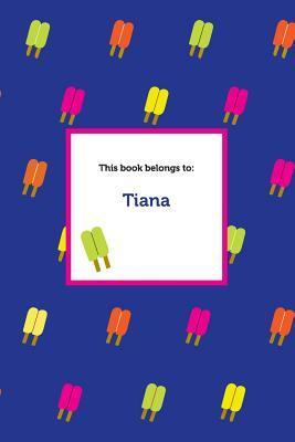 Etchbooks Tiana, Popsicle, Blank  by  Etchbooks