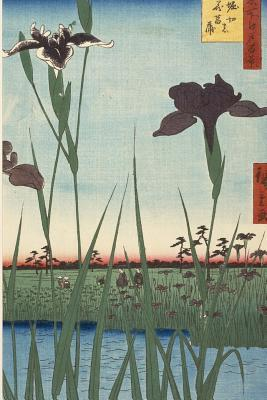 Horikiri Iris Garden (Utagawa Hiroshige): Blank 200 Page Lined Journal for Your Thoughts, Ideas, and Inspiration Jmm Shepperd