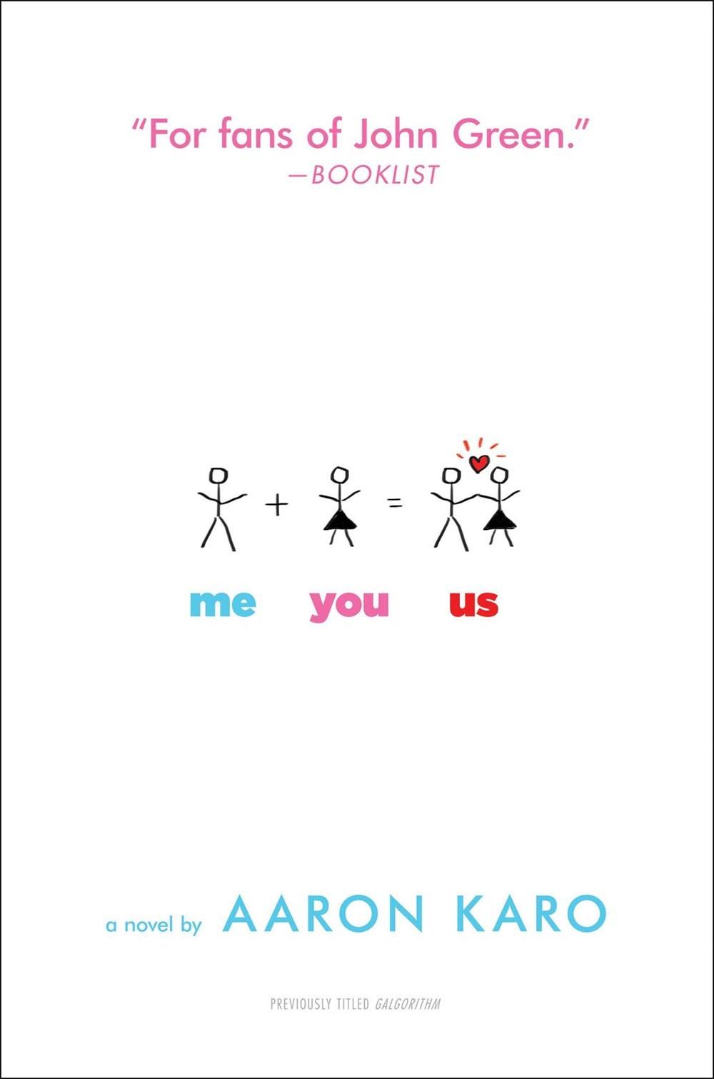 Me You Us  by  Aaron Karo