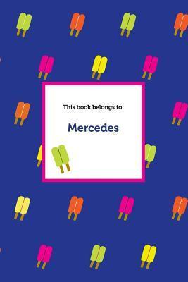 Etchbooks Mercedes, Popsicle, Wide Rule Etchbooks