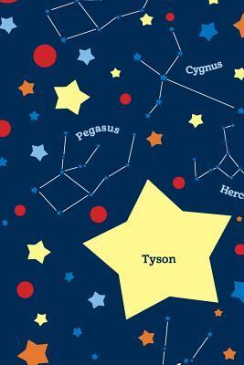 Etchbooks Tyson, Constellation, Wide Rule  by  Etchbooks