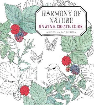 Harmony of Nature: Unwind. Create. Color. Mihoko Kurihara