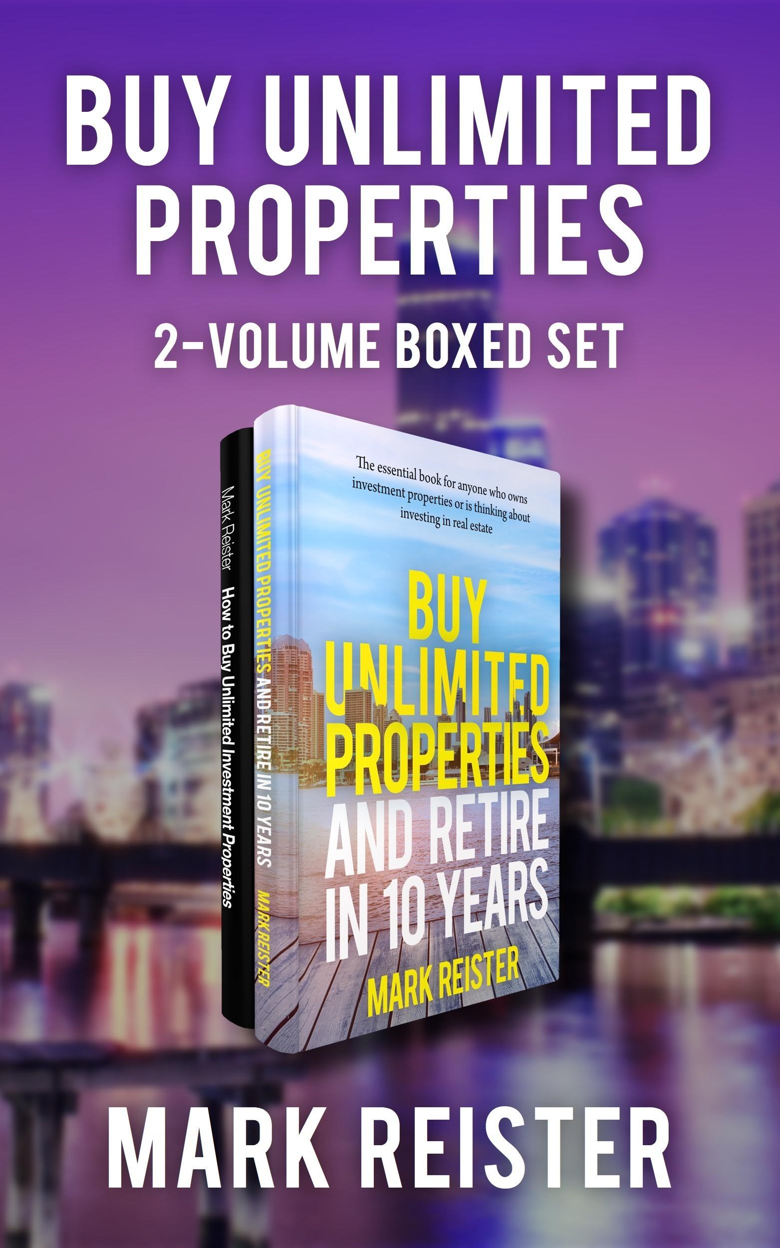 Buy Unlimited Properties 2-Volume Boxed Set Mark Reister
