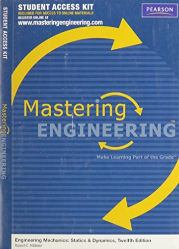 MasteringEngineering -- Standalone Access Card -- for Engineering Mechanics  by  Russell C. Hibbeler