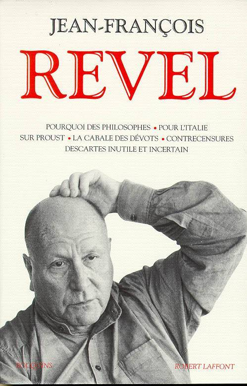 Pourquoi Des Philosophes Jean-François Revel