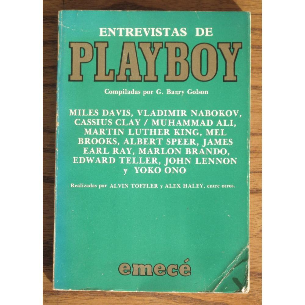Entrevistas de Playboy  by  G. Barry Golson