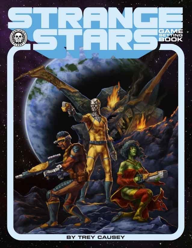 Strange Stars - Game Setting Book Trey Causey