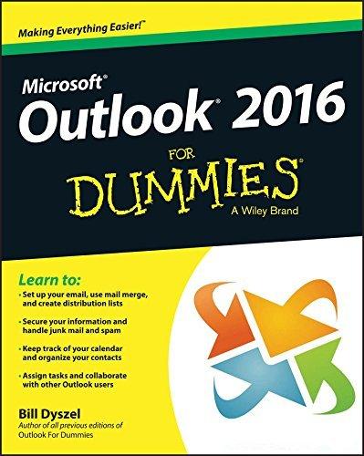 Outlook 2016 For Dummies (For Dummies Bill Dyszel