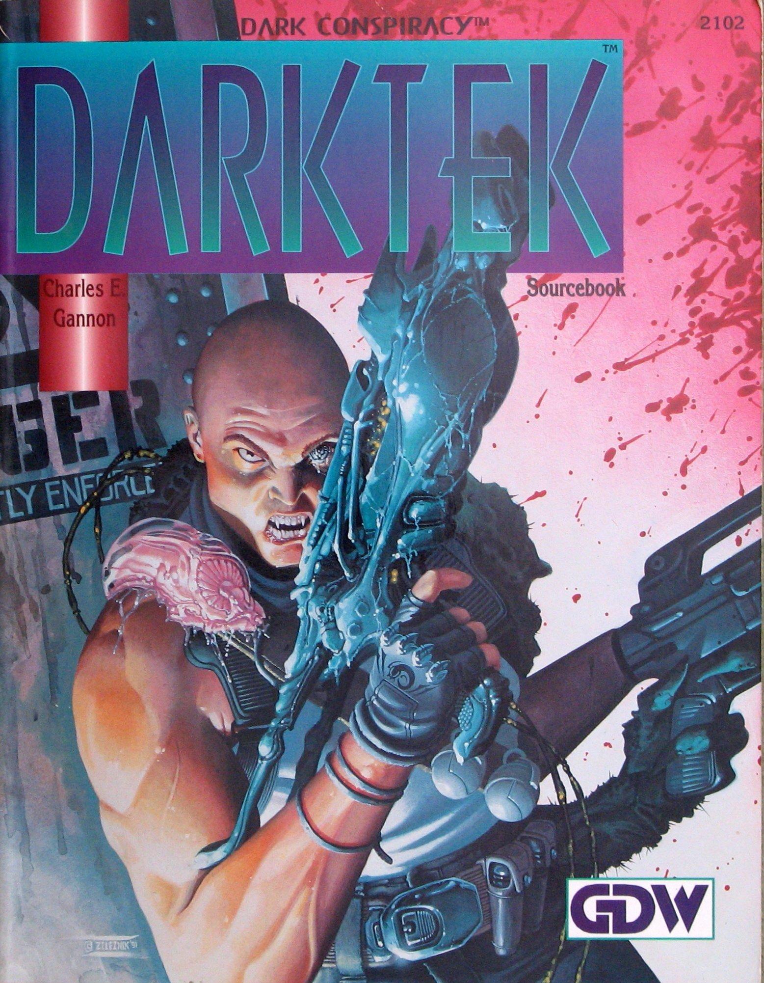Darktek Sourcebook Charles E. Gannon