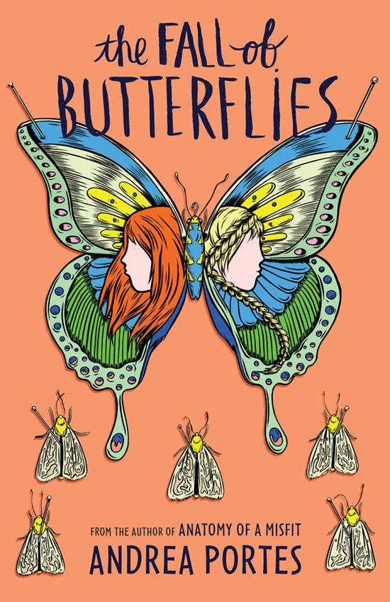 The Fall of Butterflies Andrea Portes