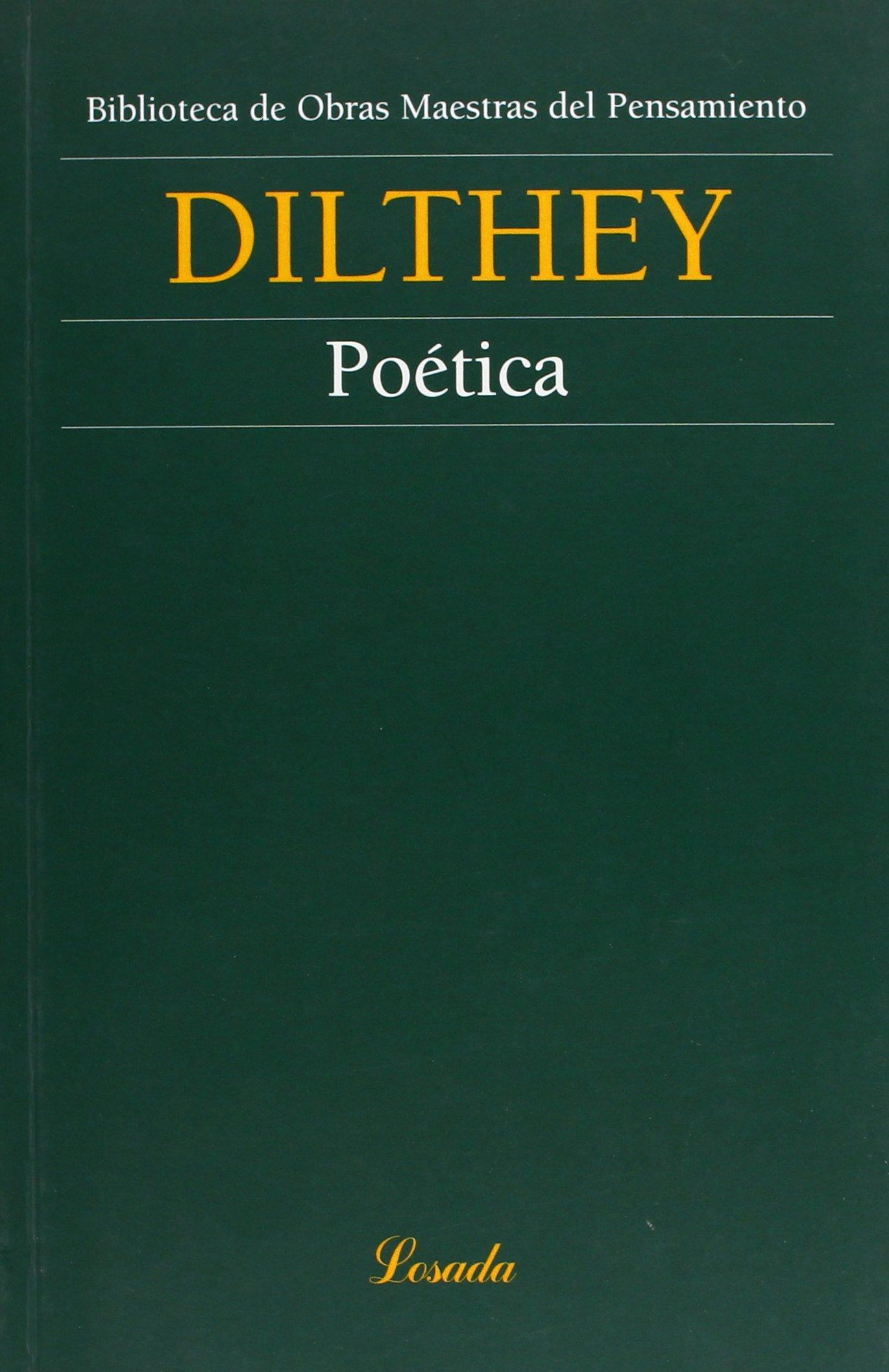 Poética Wilhelm Dilthey