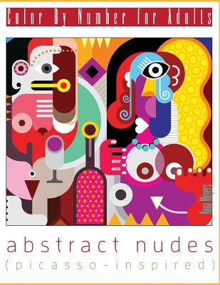 Color  by  Number for Adults: Abstract Nudes by Nona Meyers