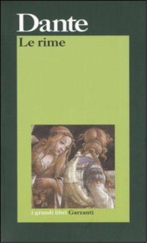 Le Rime  by  Dante Alighieri