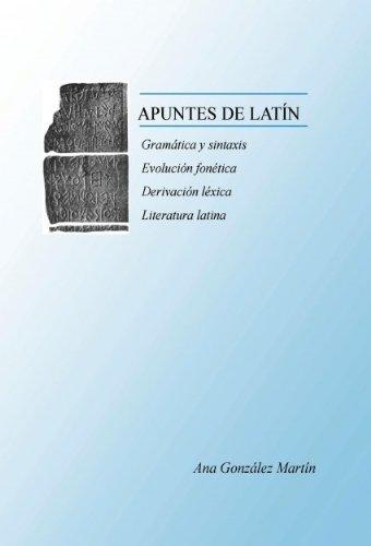APUNTES DE LATÍN  by  Ana González