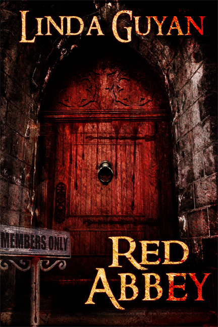 Red Abbey  by  Linda Himes Guyan