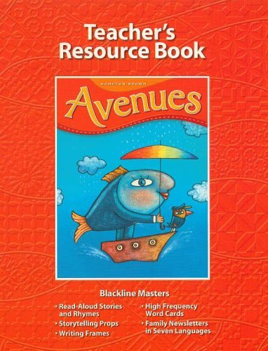 Avenues Kindergarten Level A (Teachers Resource Book, Level A)  by  Hampton Brown