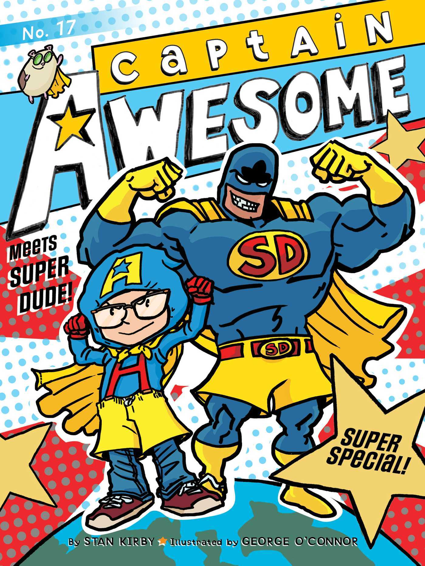 Captain Awesome Meets Super Dude!: Super Special  by  Stan Kirby