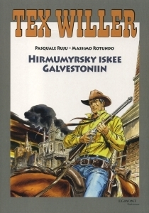 Hirmumyrsky iskee Galvestoniin Pasquale Ruju