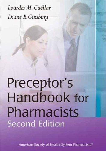 Preceptors Handbook for Pharmacist Lourdes Cuellar