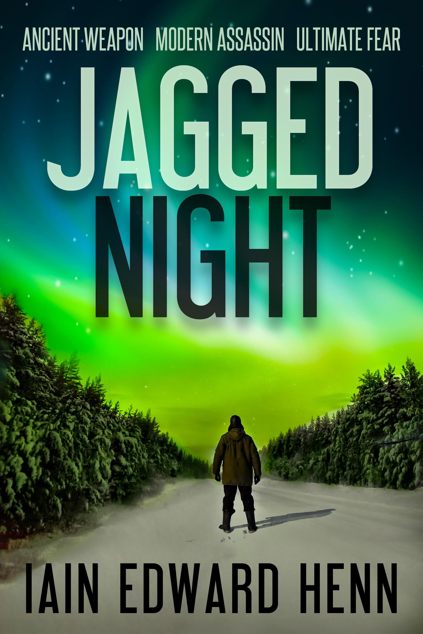 Jagged Night  by  Iain Edward Henn