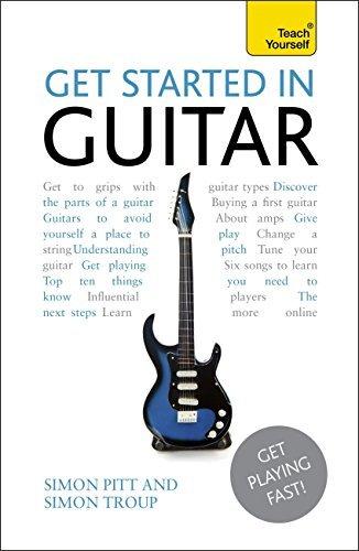 Get Started In Guitar: Teach Yourself enhanced eBook ePub: Kindle audio eBook (Teach Yourself Audio eBooks) Simon Pitt