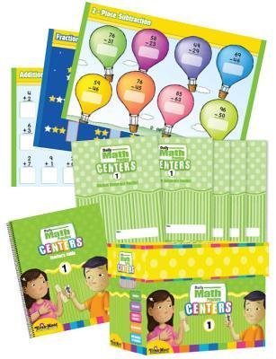 Daily Math Practice Centers, Grade 1 Classroom Resource Kit Evan Moor