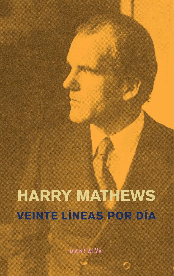 Veinte líneas por día Harry Mathews