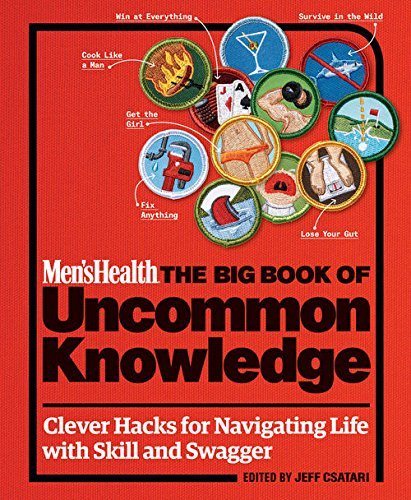 Mens Health The Big Book of Uncommon Knowledge: Clever Hacks for Navigating Life with Skill and Swagger! From the Editors of Mens Health