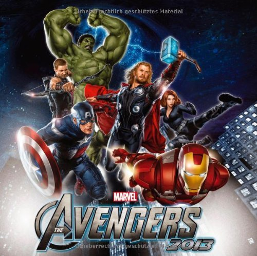 2013 Marvel Avengers Grid Calendar  by  teNeues